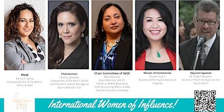 July - International Women of Influence Luncheon tickets
