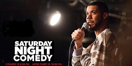 Saturday Comedy @ Monticello tickets