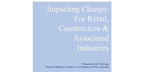 Impacting Change for the Retail, Construction & Associated Industries tickets