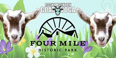Baby Goat Yoga - August 14th  (FOUR MILE HISTORIC PARK) tickets