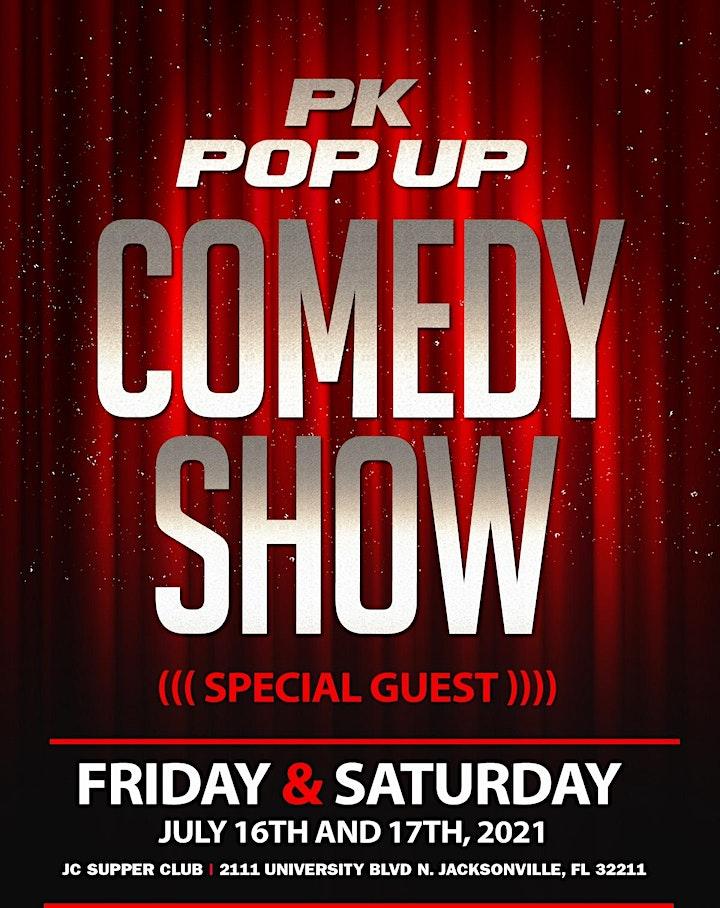 PK Pop Up Comedy Show image