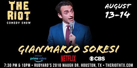 The Riot Comedy Show presents Gianmarco Soresi (Netflix, CBS, Prime Video) tickets