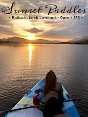 Paddleboarding into the Sunset tickets