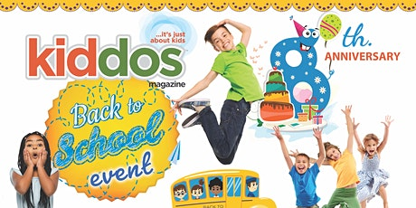 Kiddos 2021 Back to School & 8th Anniversary Event tickets