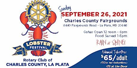 45th Annual Rotary Club Lobster Festival tickets