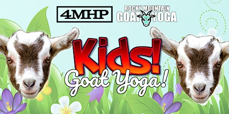Baby Goat Yoga for Kids - August 15th  (FOUR MILE HISTORIC PARK) tickets