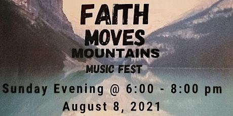 Faith Moves Mountains tickets