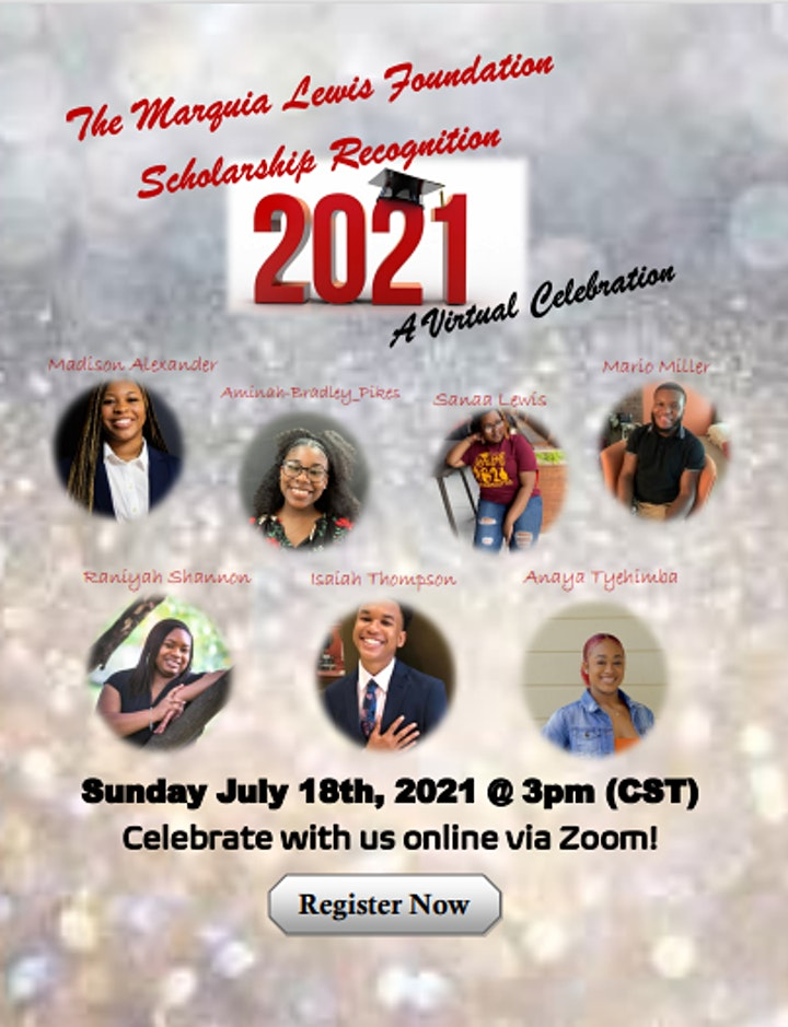 The Marquia Lewis Foundation Virtual Banquet 2021 image