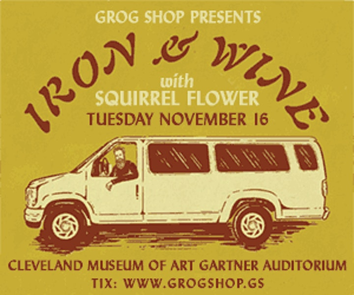Iron and Wine w/Squirrel Flower image