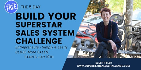 5 Day Build Your Superstar Sales System Master Class tickets