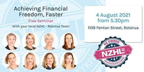 Achieving Financial Freedom, Faster – Rotorua tickets