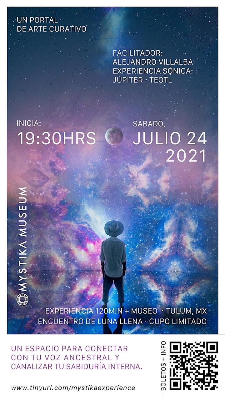 Alejandro Villalba & Júpiter @ MYSTIKA MUSEUM · Full Moon image