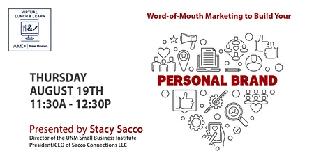 Word of Mouth Marketing to Build Your Personal Brand tickets