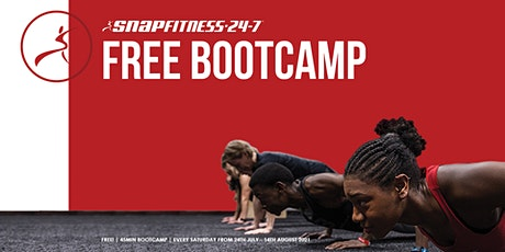 Snap Fitness FREE Bootcamp tickets