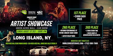 Concert Crave Artist Showcase - Long Island, NY (Car Show) 8.1.21 tickets