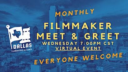 Filmmaker Online Meet & Greet - Film In Dallas tickets