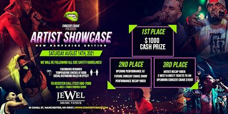 Concert Crave Artist Showcase - New Hampshire 8.14.21 tickets