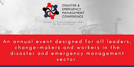 2021 Disaster & Emergency Management Conference tickets
