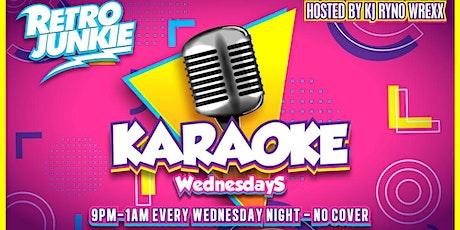 Karaoke Night @ Retro Junkie tickets