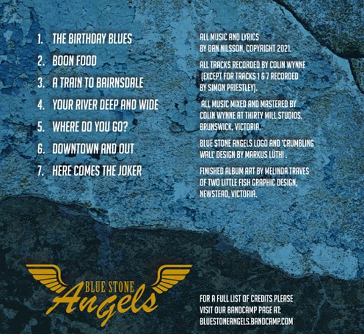 Now Sat 27th Nov *** Blue Stone Angels (Album launch) & Sidetracked image