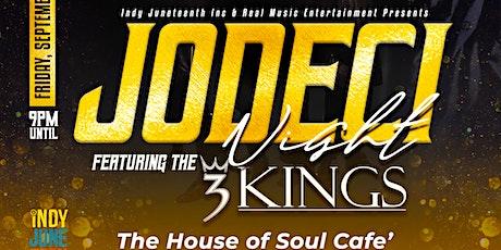 Jodeci Night tickets