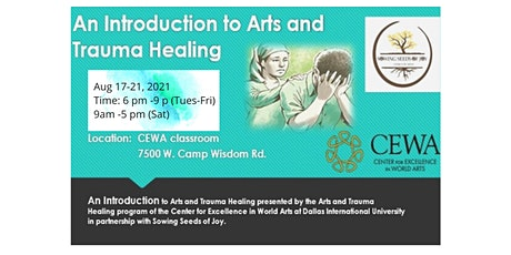An Introduction  to Arts and Trauma Healing tickets