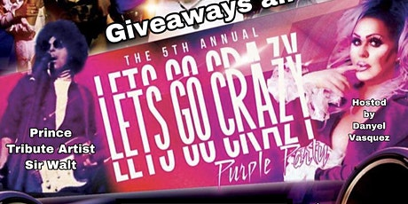 Let's go crazy Prince dance party tickets