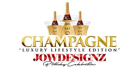 Champagne Jowdesignz Birthday Celebration tickets