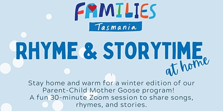 Rhyme & Storytime - ONLINE tickets