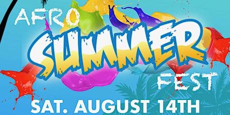 Afro Summer Fest 2021 tickets