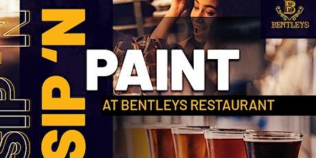 Sip 'N Paint @BentleysNJ Restaurant tickets