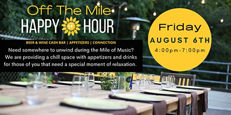 Happy Hour off The Mile tickets