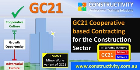 GC21 + MW21 Cooperative based Contracting - Monday 23 Aug 2021 tickets