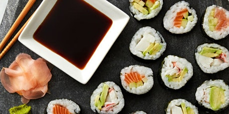 In-person class: *Indoor or Outdoor* Make Your Own Sushi (Los Angeles) tickets