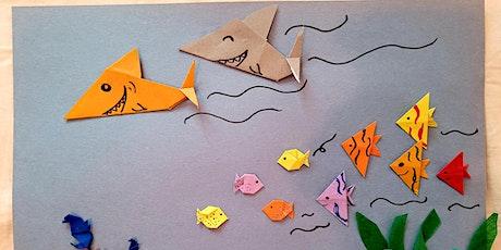 Origami Sea Animal Children Workshop 4 diff classes, shark, fish, crab... tickets