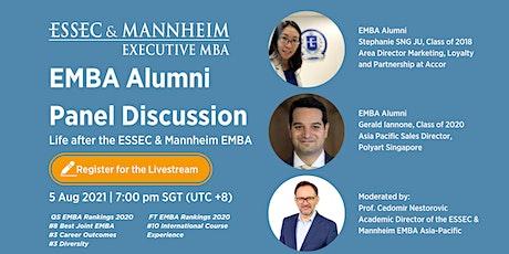 ESSEC & Mannheim EMBA Alumni Panel Discussion tickets