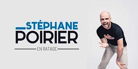 Stéphane Poirier billets