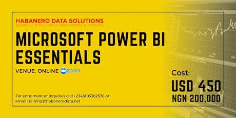 Data Analytics & Business Intelligence Training Using Power BI tickets