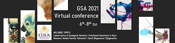 Genetics Society of AustralAsia 2021 Online Conference image