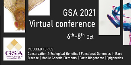 Genetics Society of AustralAsia 2021 Online Conference tickets