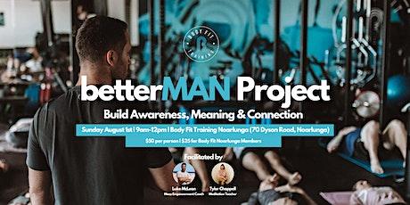 betterMan Project tickets