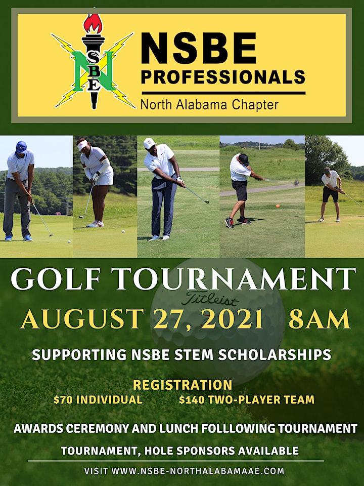 NSBE Professionals North Alabama 6th Golf Tournament image