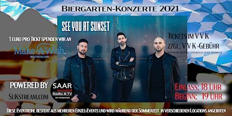 Biergarten-Konzerte 2021 / Kultur Sommer in Saarbrücken Tickets