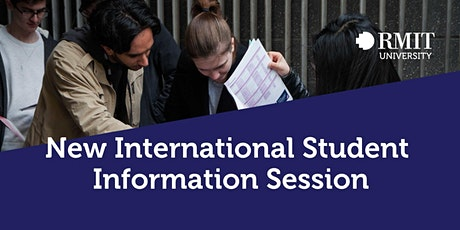New International Student Information Session tickets