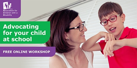 Tuesday 10am - Advocating for Your Child tickets