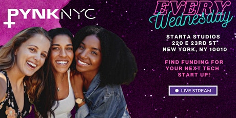 PYNK MIXER: NYC'S TOP CREATIVE INDUSTRY MIXER FOR WOMEN at Starta Studios tickets