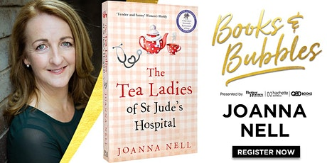 Books & Bubbles with Joanna Nell tickets