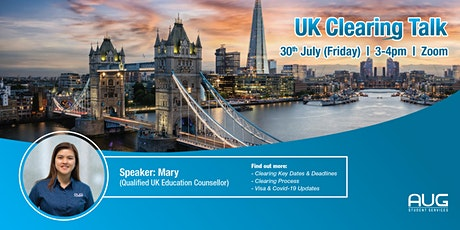Webinar: Last call to UK! Clearing talk for September 2021 intake billets
