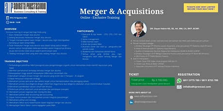 Merger and Acquisitions tickets