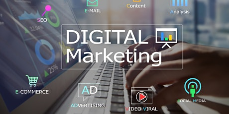 Weekends Digital Marketing Training Course for Beginners Mobile tickets